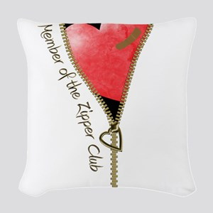 zipclubnew-2 Woven Throw Pillow