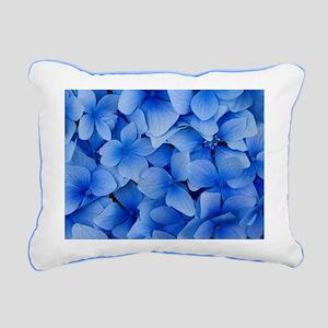 Blue Beauty Rectangular Canvas Pillow
