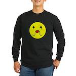 Sourmug Smiley Long Sleeve Dark T-Shirt