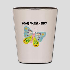 Custom Cartoon Butterfly Shot Glass