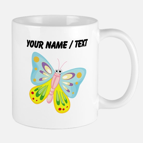 Custom Cartoon Butterfly Mugs