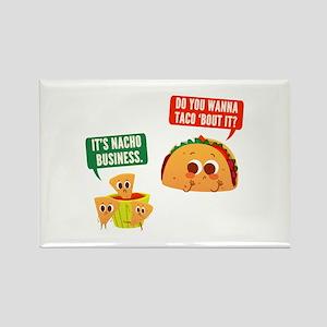 Nacho Business Pun Magnets