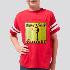 Dance with Attitude Youth Football Shirt