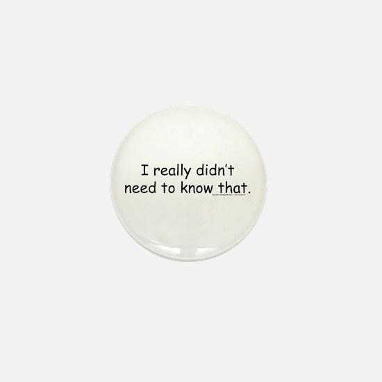 Funny Hr Mini Button