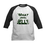 What Beer Belly? Kids Baseball Jersey