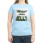 What Beer Belly? Women's Pink T-Shirt