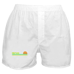 Florida Rainbow Sunset Boxer Shorts