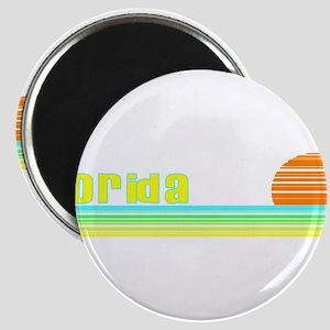 Florida Rainbow Sunset Magnet