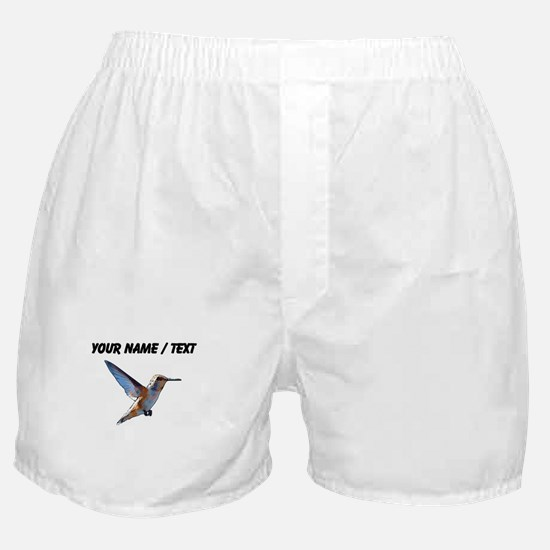 Custom Hummingbird Boxer Shorts