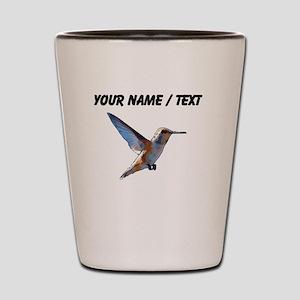 Custom Hummingbird Shot Glass