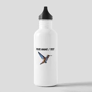 Custom Hummingbird Sports Water Bottle