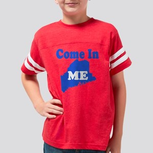 MAINEcomeinLIGHT Youth Football Shirt