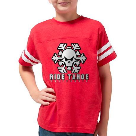 rideskulltahoe Youth Football Shirt