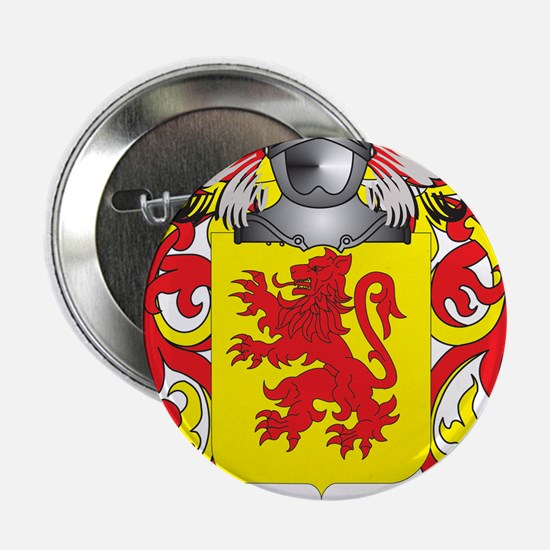 """Whimper Family Crest (Coat of Arms) 2.25"""" Button"""