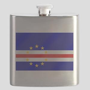 Cabo Verde Flag Flask