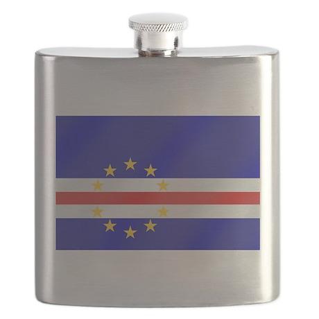 Cape Verde Flag Flask