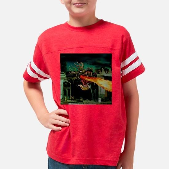 dragonbreathSQ Youth Football Shirt