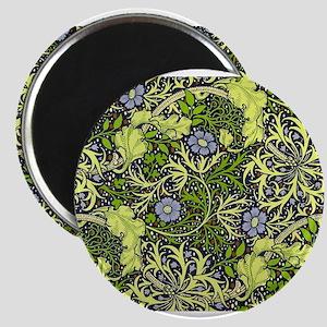 William Morris Seaweed Vintage Floral Magnets