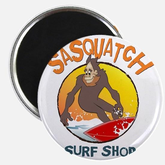 Sasquatch Surf Shop Magnet