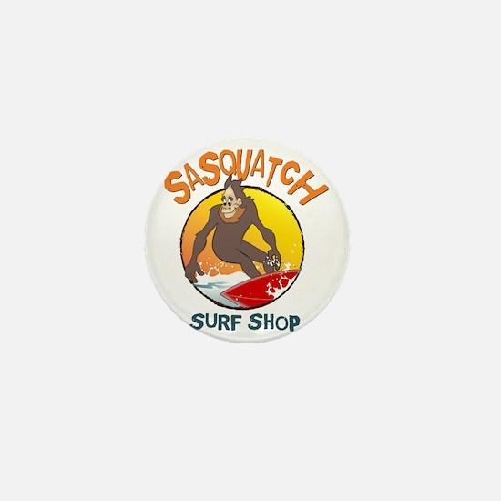 Sasquatch Surf Shop Mini Button