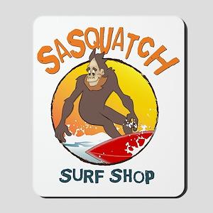 Sasquatch Surf Shop Mousepad