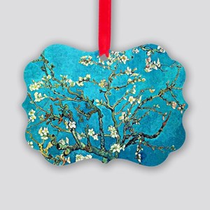 Van Gogh - Branches with Almonds Picture Ornament