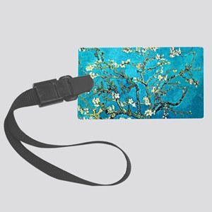 Van Gogh - Branches with Almonds Large Luggage Tag