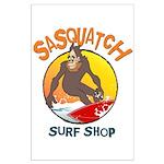Sasquatch Surf Shop Posters