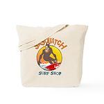 Sasquatch Surf Shop Tote Bag