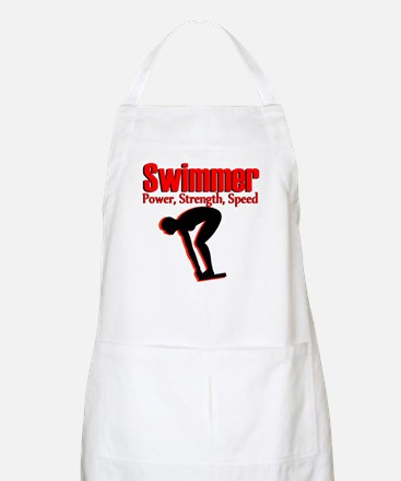 BORN TO SWIM Apron