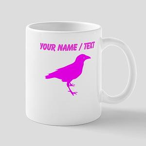 Custom Pink Raven Mugs