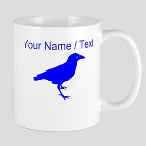 Custom Blue Raven Mugs
