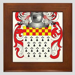 Wilcockson Family Crest (Coat of Arms) Framed Tile
