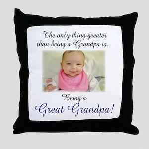 Great Grandpa Throw Pillow