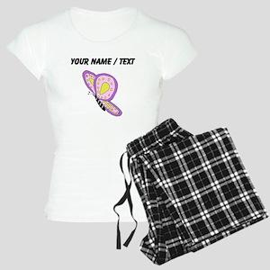 Custom Purple Butterfly pajamas