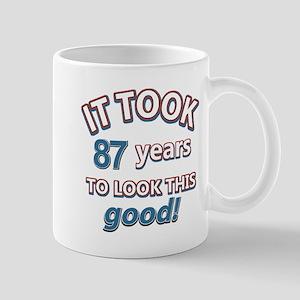 88 year old birthday designs Mug