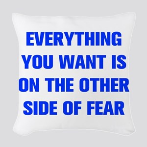 everything-you-want-fear-AKZ-BLUE Woven Throw Pill