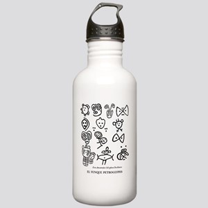 Taino Petroglifos del  Stainless Water Bottle 1.0L