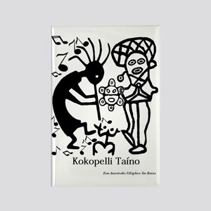 Taino Kokoppelli Rectangle Magnet