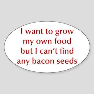 bacon-seeds-opt-dark-red Sticker