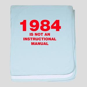 1984-HEL95-RED baby blanket