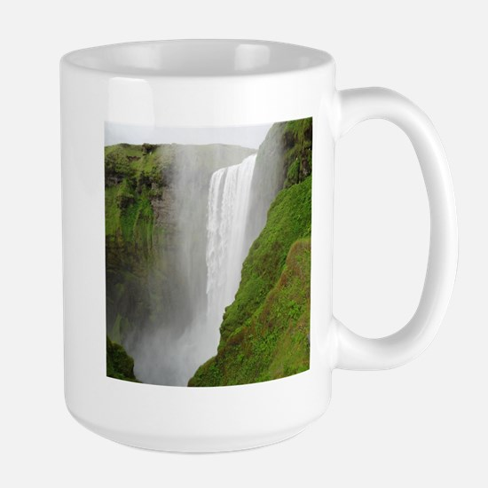 gigantic waterfall Mugs