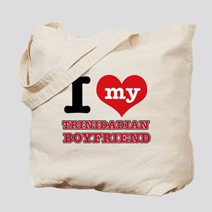 I love my Trinidadian Boyfriend Tote Bag
