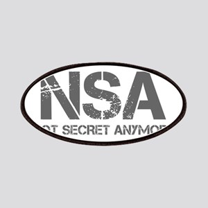 nsa-not-secret-anymore-cap-gray Patches