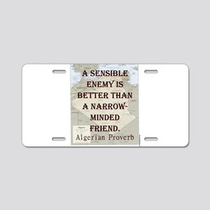 A Sensible Enemy Is Better - Algerian Aluminum Lic