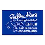 Goblin King Rectangle Sticker
