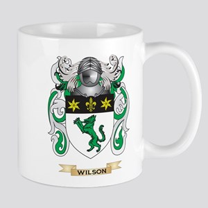 Wilson Family Crest (Coat of Arms) Mugs
