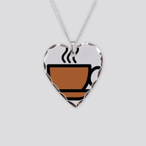 Hot Cup of Coffee Necklace