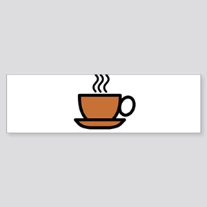 Hot Cup of Coffee Bumper Sticker