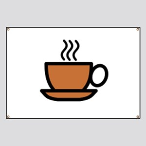 Hot Cup of Coffee Banner